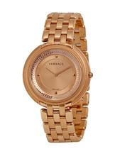 Versace Thea Rose Gold Plated Stainless Steel Ladies Watch-VA7050013