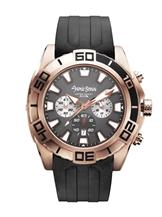 Antonio Bernini Fighter Chronograph Black Dial Men's Watch-AB057