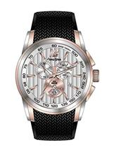 Antonio Bernini Fighter Chronograph Silver Dial Men's Watch-AB040