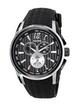 Antonio Bernini Fighter Chronograph Black Dial Men's Quartz Watch-AB039
