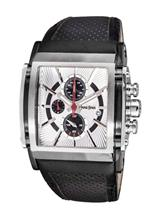 Antonio Bernini Fighter Chronograph Silver Dial Men's 48mm Watch-AB027
