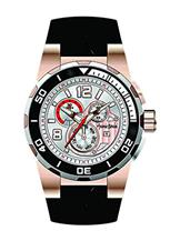 Antonio Bernini Fighter Chronograph White Dial Watch-AB033