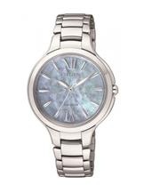 Citizen Women's Eco-Drive Silver Stainless-Steel Eco-Drive Watch-EP5991-57D
