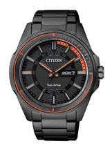 Citizen Eco-Drive Mens 44mm Round Shape Watch-AW0035-51E