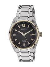 Citizen Eco-Drive Sapphire Crystal Glass Watch-AW1245-53E