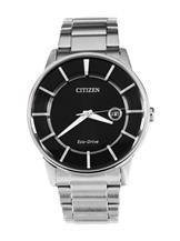 Citizen Eco-Drive Mineral Glass Round Watch-AW1260-50E