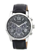 Guess Blue/Black Chronograph Watches-W0380G3