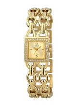 Guess Ladies Gold Stainless-Steel Quartz Watch -W10598L1