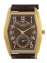 Timex Brown Dial Analog Mens Watch-JT15