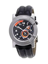 Fastrack Analog Black Dial Men's Leather Watch -NB1476SL01