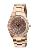 Guess Rose Gold / Silver Analog Watch-W12651L1