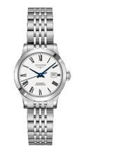Longines Record Automatic Women's White Dial Watch-L2.321.4.11.6