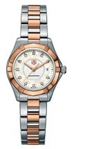 TAG Heuer Aquaracer Mother of Pearl Dial Women's Diamonds  Watch-WAP1451.BD0837