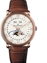 Blancpain Villeret Moonphase Men's Watch-N06654O036042A055B