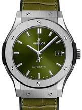 Hublot Classic Fusion Titanium Green Men's Watch-511.NX.8970.LR