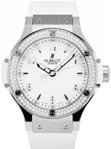 Hublot Big Bang Steel White Diamonds Watch-361.SE.2010.RW.1104