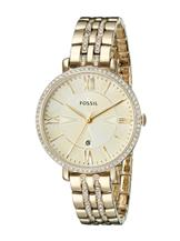 Fossil Jacqueline Analog Gold Dial Women'S Watch-Es3547