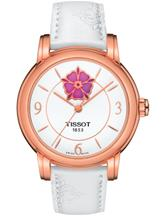 Tissot Lady Heart Flower Powermatic 80 White Dial Women's Watch-T0502073701705