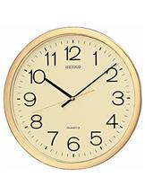 Seiko Plastic Case Wall Clock (Gold, QXA020AT)-QXA020AT