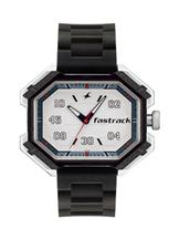 Fastrack Sport White Dial Plastic Watch-3100SP01