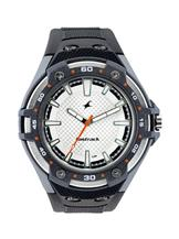 Fastrack Essential Black/White Analog Watch -NB9332PP01