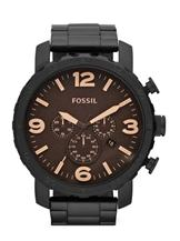 Fossil Nate Stainless Steel Watch-JR1356I