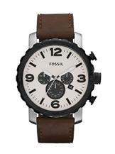 Fossil Nate Leather Watch -JR1390I