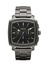 Fossil Men's Chronograph Black Dial Watch -JR1397