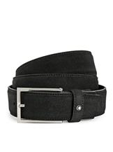 Montblanc Classic Square Suede Leather Belt MB112958-MB112958