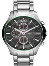 A/X Smart Chrono Black Dial Stainless SteelWatch-AX2163
