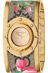 LADIES GUCCI TWIRL BLOOMS WATCH YA112443-YA112443