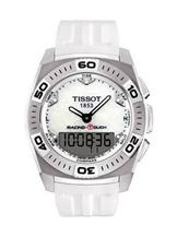 tissot racing touch white dial watch-T1014104403100