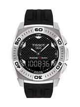 tissot racing touch gents black rubber-T1014104403100