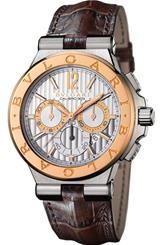 Bvlgari Diagono 101879 Chronograph Men's Watch-101879