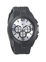 Fastrack Chronograph Silver Dial Men's Watch 001-38001PP01