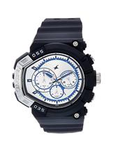 Fastrack Chronograph Silver Dial Men's Watch 07-38007PP01