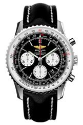 Breitling Navitimer 01 Black Chronograph Watch-AB012012/BB01/435X/A20BA.1